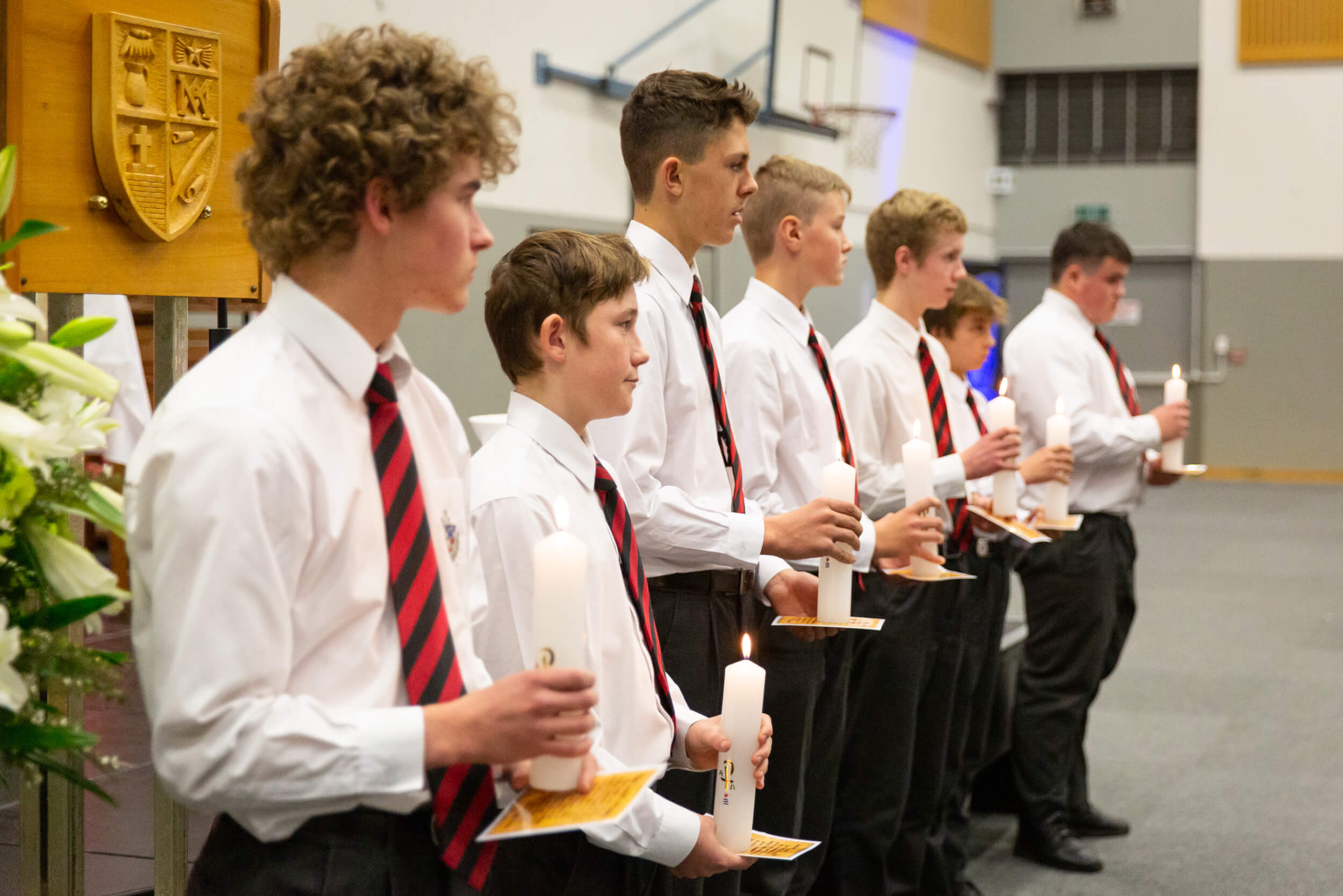 St Bede's College mass